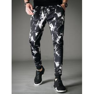 Cracking Dye Slim Fit Jogger Pants