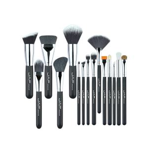 15Pcs Portable Nylon Beauty Makeup Brushes Set