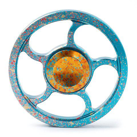 Sale Camouflage Wheel Metal Fidget Spinner For Adults and Kids