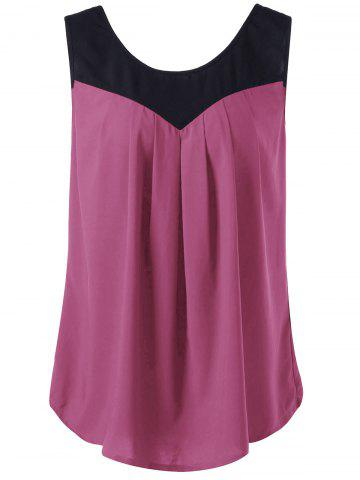 Shop Curved Plus Size Two Tone Tank Top