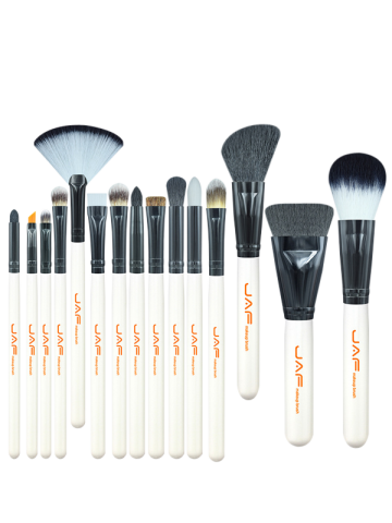 Online Beauty Makeup Brushes Set - WHITE  Mobile