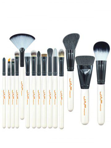 Discount Beauty Makeup Brushes Set - WHITE  Mobile