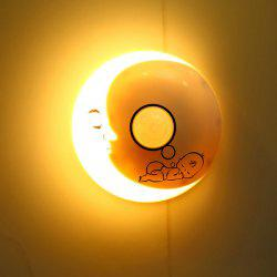 Lovely Baby Crescent USB Mini LED Night Light