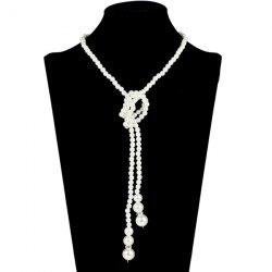 Adorn Graduated Pearl Necklace