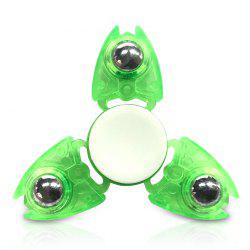 Focus Toy Crab Triangle Plastic Ball Bearing Fidget Spinner
