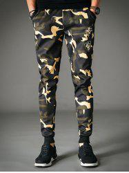 Patches Design Camo Jogger Pants