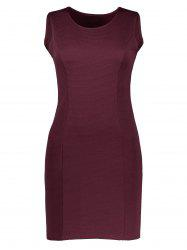 Bodycon Ribbed Mini Tank Dress