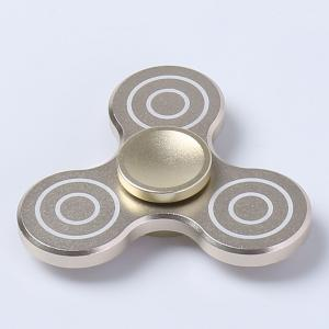 High Speed Bearing Anti-anxiety Fidget Hand Spinner - GOLDEN 6.4*6.4*1.3CM