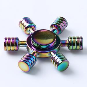 Rainbow Zinc AlloyEDC Hand Spinner Fidget Toy - COLORFUL 6.2*6.2*1.5CM