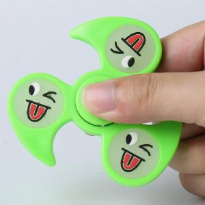 Glow In The Dark Emoticon EDC Fidget Spinner -