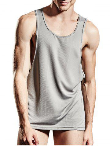 Store Suture Breathable Sports Tank Top GRAY L