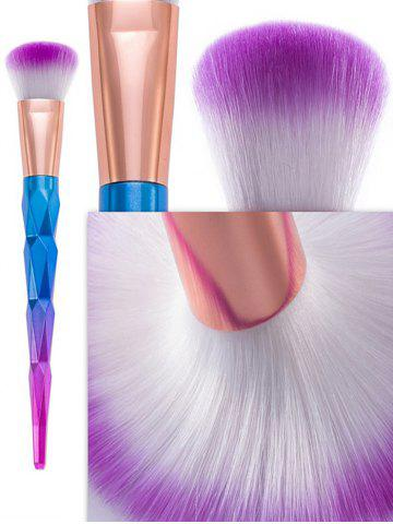New 12Pcs Taper Angular Fancy Gradient Color Makeup Brushes Set - BLUE VIOLET  Mobile