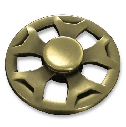 Affordable Round Fidget Metal Spinner Anti-stress Plaything