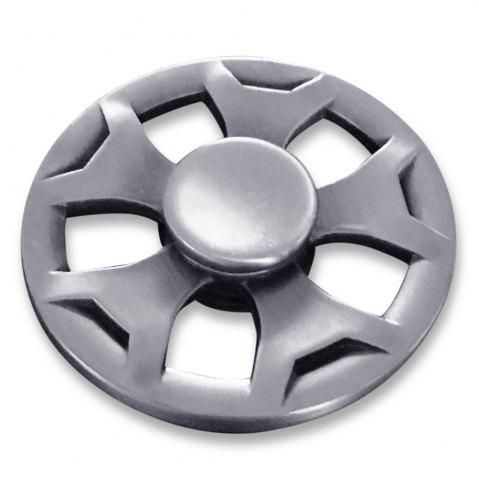 Fancy Round Fidget Metal Spinner Anti-stress Plaything