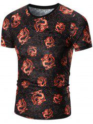 All Over Dragon Printed Tee