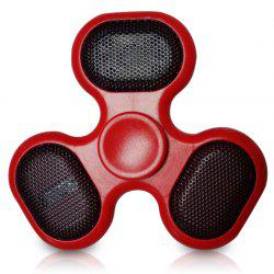 Focus Toy LED Bluetooth Speaker Musical Triangle Hand Spinner - RED