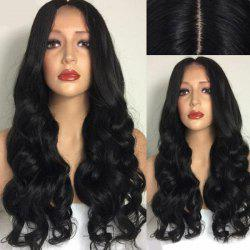 Ultra Long Center Part Body Wave Synthetic Wig