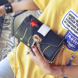Stars Chain Crossbody Bag