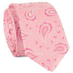 Retro Paisley Jacquard Fabric Neck Tie