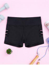 Cut Out Sporty Shorts -