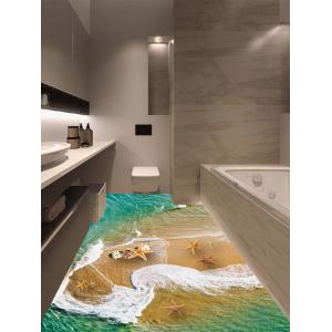 Home Decor Beach Seafish Floor Sticker