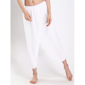 Yoga Chiffon Panel Flounce Dressy  Pants