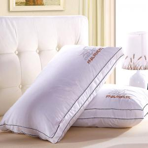 VIP Life Soft Close Skin Feather Fabric Pillow - White - W71 Inch * L91 Inch