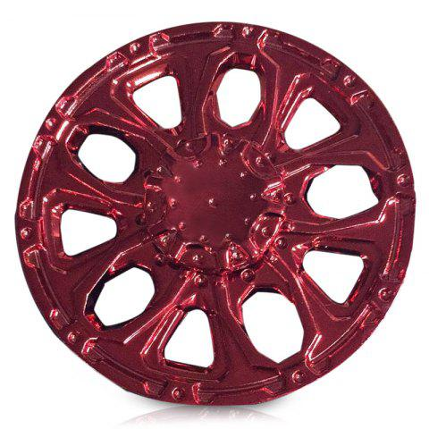 Anti Stress Alloy Wheel EDC Finger Spinner - Red - 6.6*6.6*1.5cm