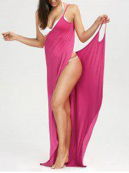 Beach Maxi Wrap Cover Up Slip Dress