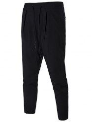 Drawstring Slim Jogger Pants