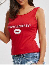 Funny Graphic Tank Top