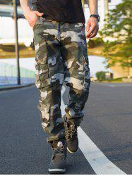 Muti-pocket Camouflage Cargo Pants