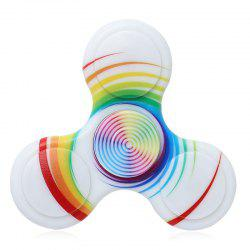 Plastic Patterned Fidget Spinner Anti-stress Plathing