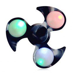 Fiddle Toy Tri-bar Fidget Spinner with Flashing LED Lights