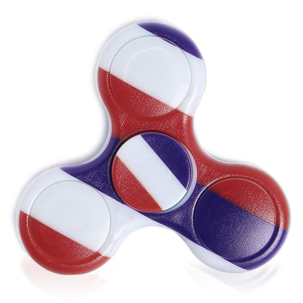 Fancy Stress Reliever National Flag Patriotic Patterned Fidget Spinner