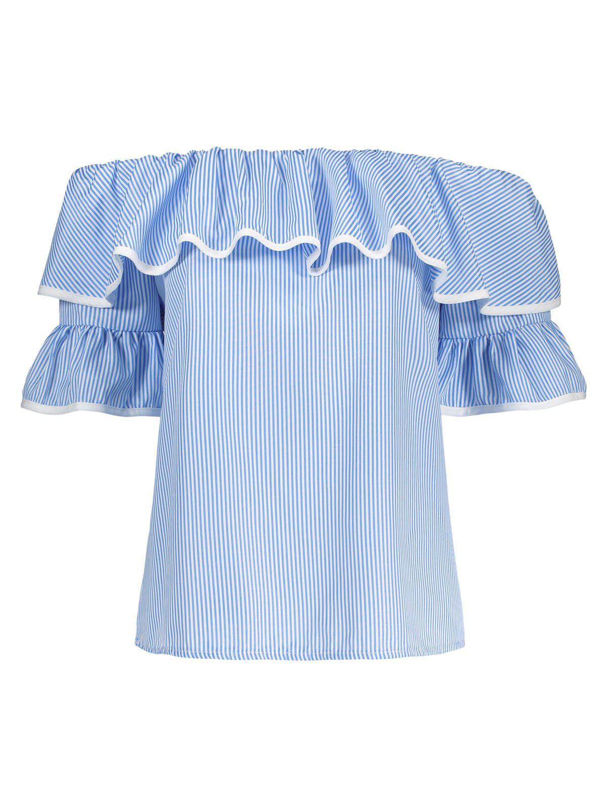 Hot Flare Sleeve Off The Shoulder Top