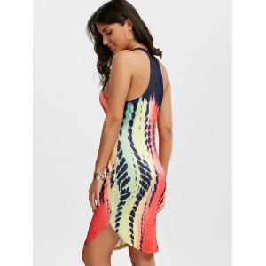 Tie Dye Mini Tank Dress - MULTI M