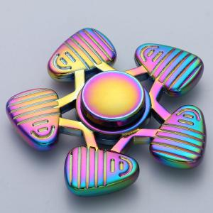 Anti-Anxiety Focus Toy Colorful Fidget Spinner - COLORFUL 6.5*6.5*1.5CM