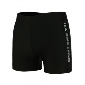 Breathable Graphic Sports Swim Shorts -