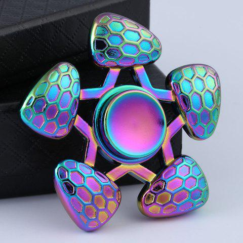 Outfit Anti-Anxiety Focus Toy Colorful Fidget Spinner COLORFUL 6.5*6.5*1.5CM