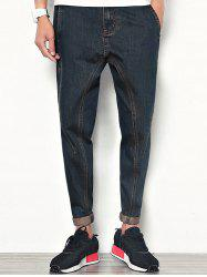 Harem Zipper Fly Nine Minutes of Jeans