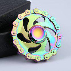 Rainbow Chain Wheel EDC Hand Spinner Time Killer -