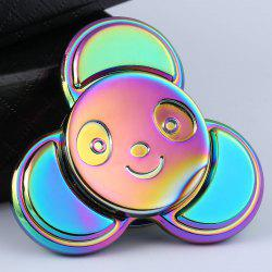 Colorful Panda Pattern Finger Gyro Fidget Spinner - COLORFUL