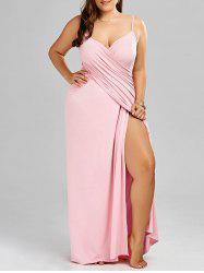 Maxi Slip Cover Up Wrap Dress