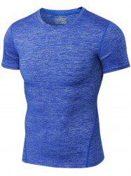 Space Dye Short Sleeve Activewear