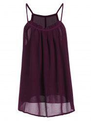 Pleated Chiffon Camis