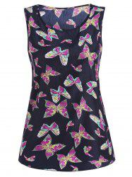 Butterfly Print Tanks