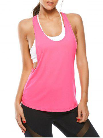 Cheap Racerback Work Out Layering Running Tank Top