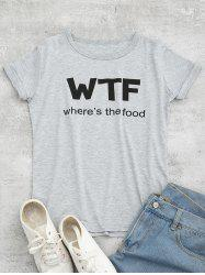 Tunic WTF Graphic Tee - GRAY