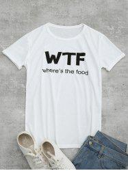 Tunic WTF Graphic Tee